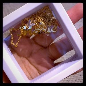 "Jewelry - Personalized ""Marie"" Name Necklace"
